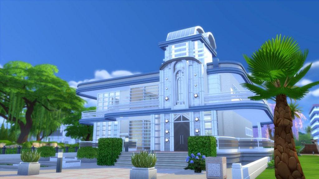Sims 4 Streamline Moderne