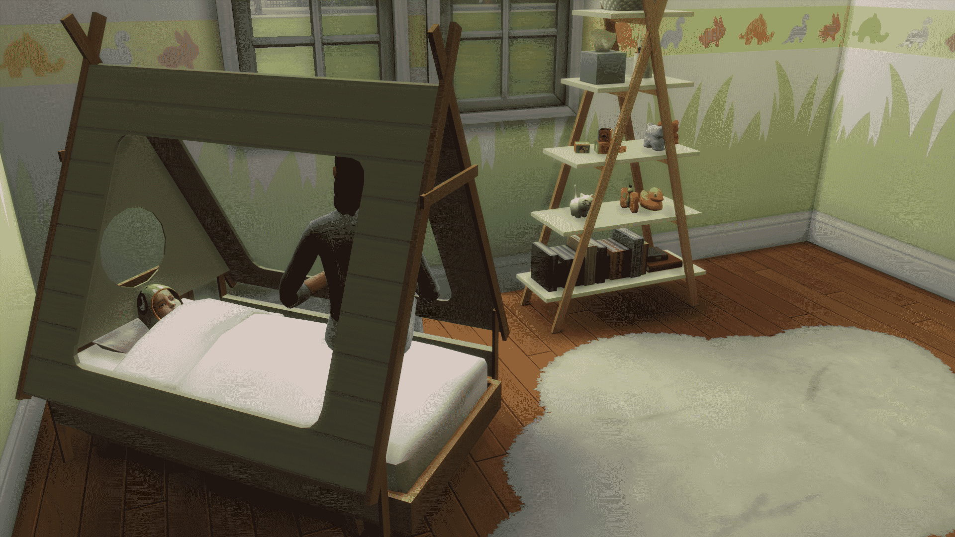 the sims 4 cc showcase toddler bedrooms. Black Bedroom Furniture Sets. Home Design Ideas