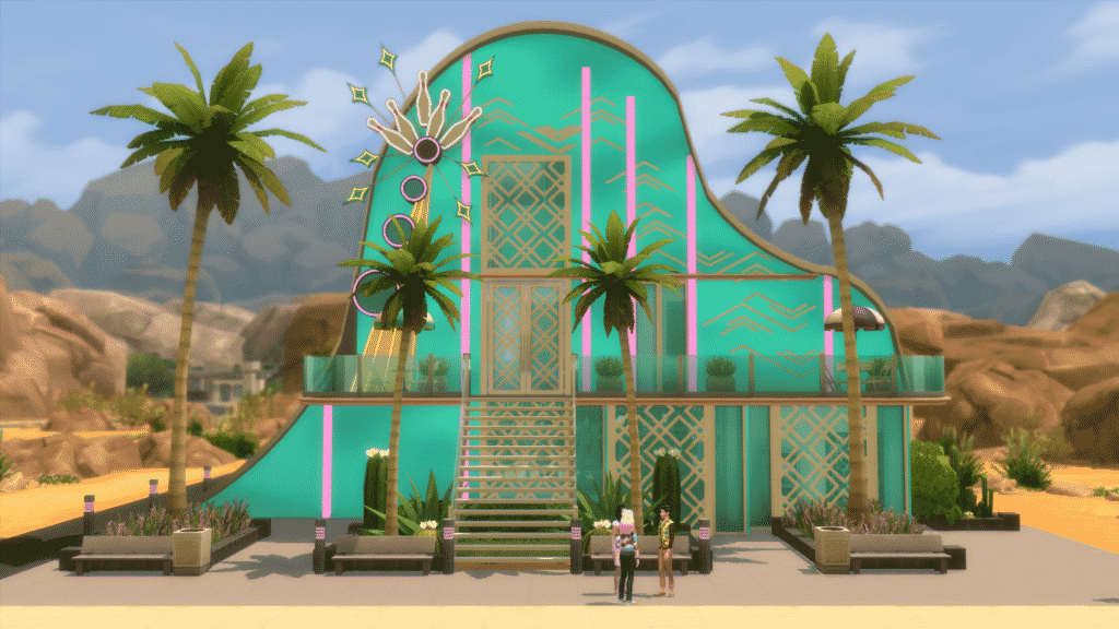 bowling night, sims 4 build challenge, bowledover, Bowled over build challenge,