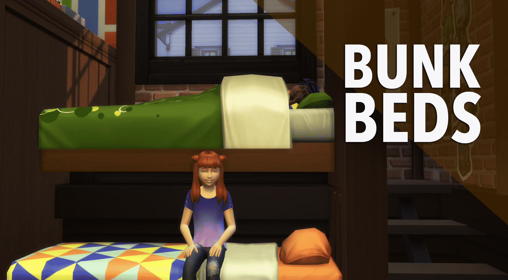 Picture of: The Sims 4 Creative Construction Bunkbed Diy