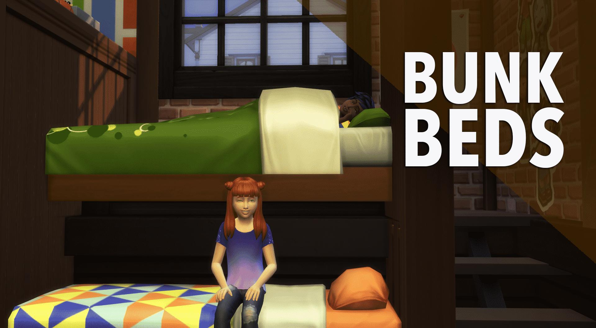 The Sims 4 Creative Construction Bunkbed Diy