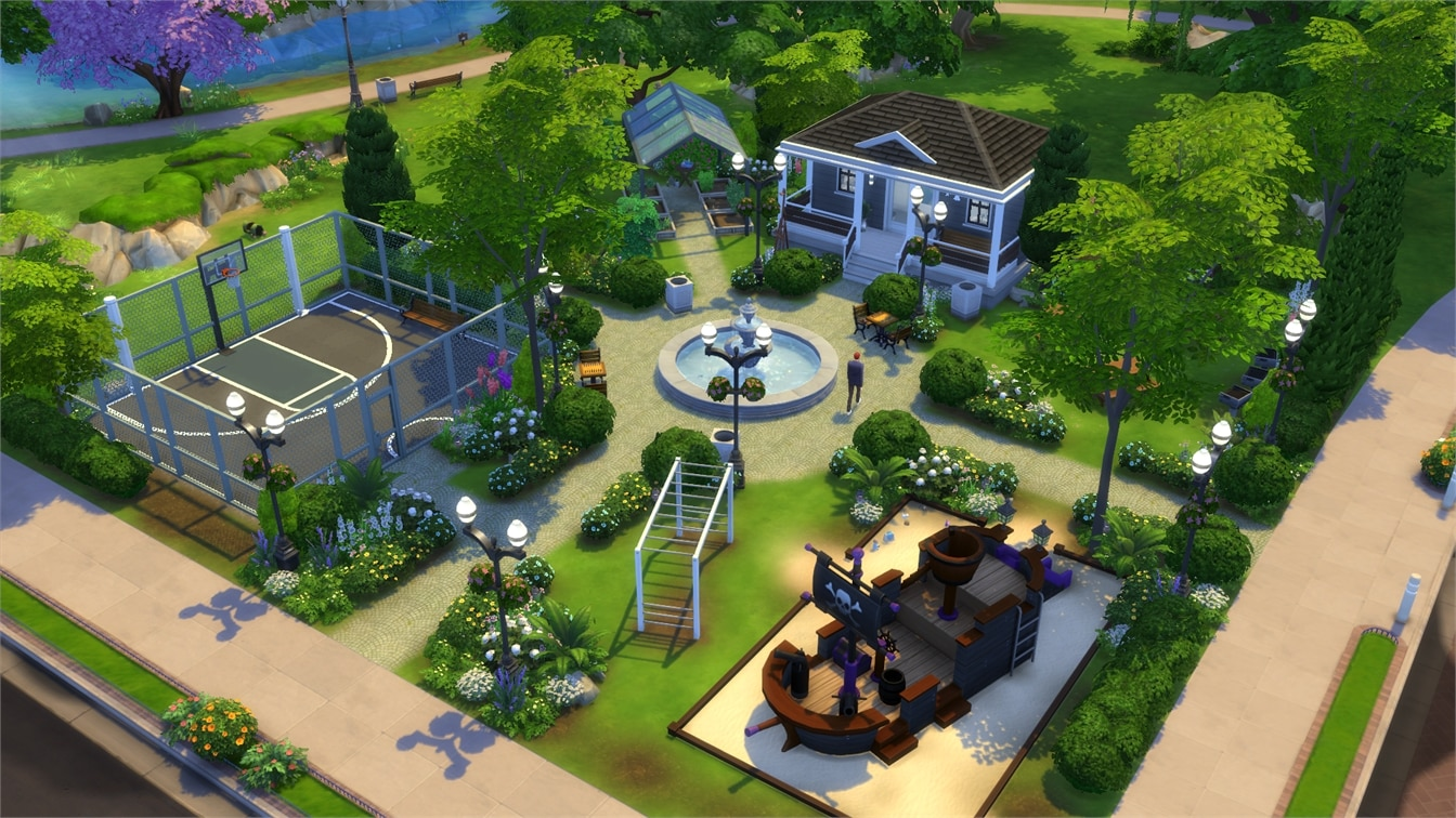 20 Gorgeous Parks for The Sims 20