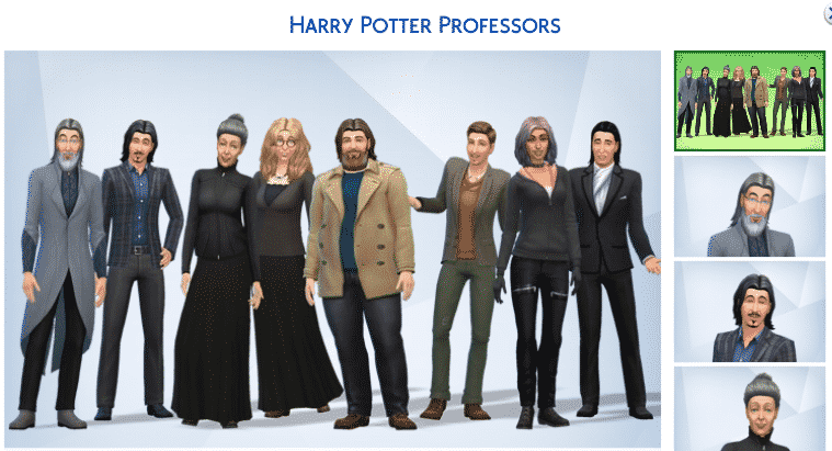 The Sims 4: Harry Potter Creations and Mods