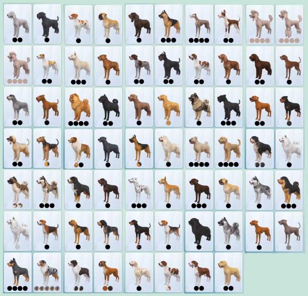 The Sims 4 Cats Dogs All Breeds And Filters