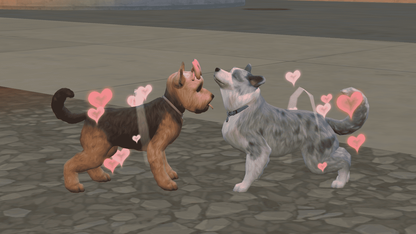sims 4 cats and dogs download size