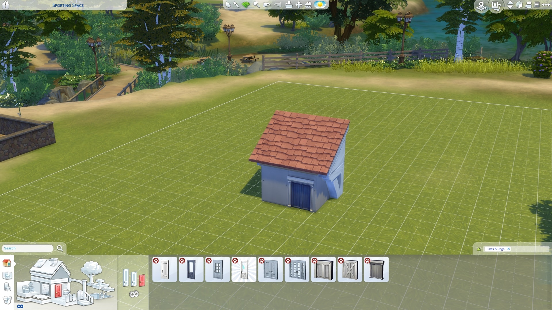 The Sims 4 Cats Dogs Building A Custom Pet House