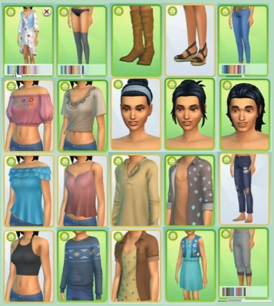 sims 4 able content clothes drying