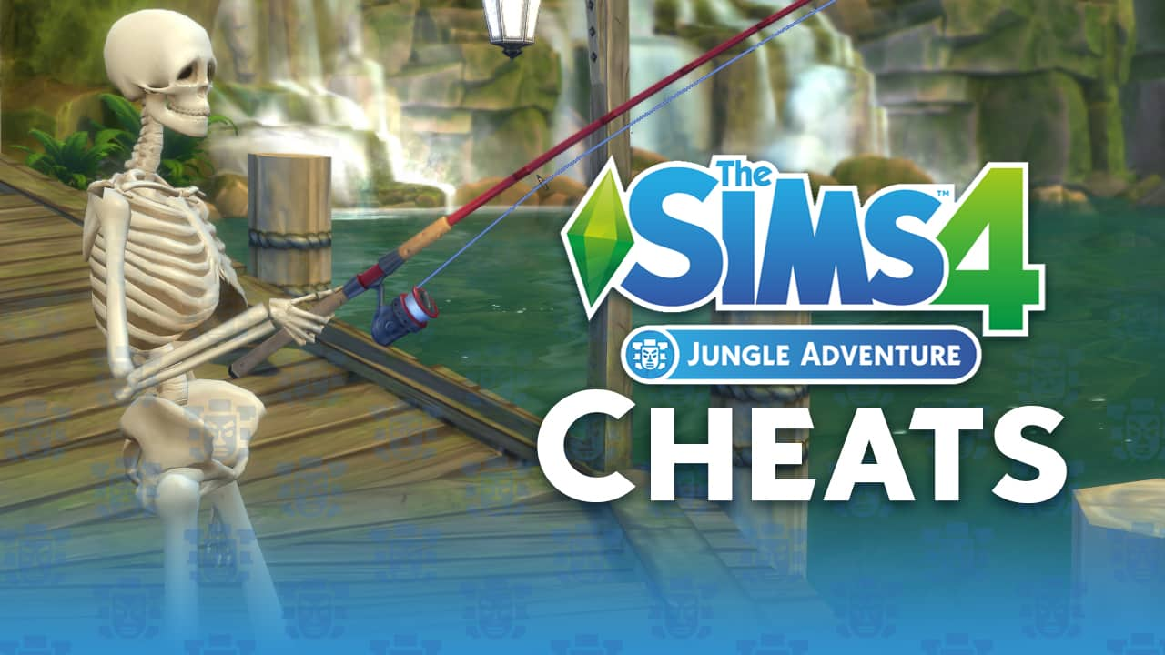 the sims 4 jungle adventure cheats and how to use them. Black Bedroom Furniture Sets. Home Design Ideas
