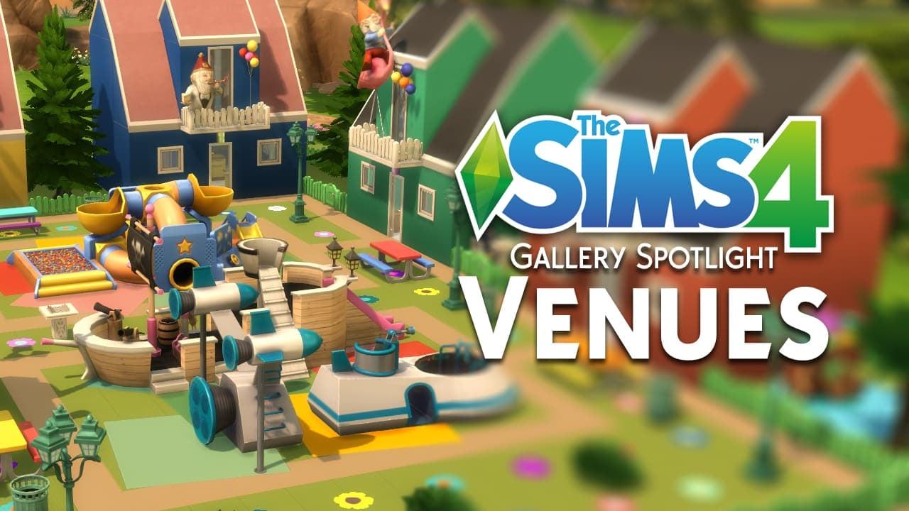 the sims 4 gallery spotlight 18 unique venues. Black Bedroom Furniture Sets. Home Design Ideas
