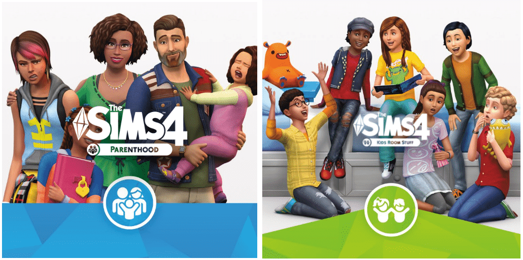 The Sims 4 Parenthood U0026 Kids Room Stuff Are Now Available On PS4 And Xbox  One