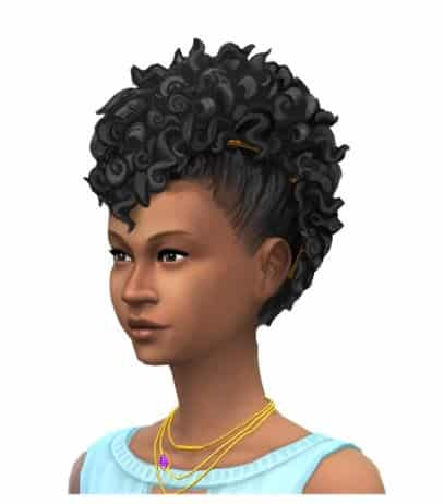 The Sims 4 New Hairstyle Concept Art