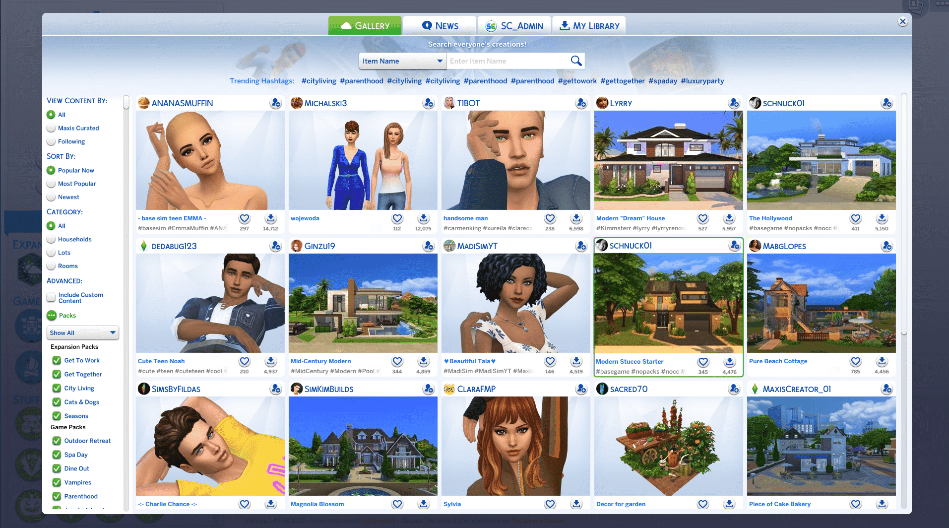 The Sims 4 How To Fix Gallery Ui Issues Caused By Mods