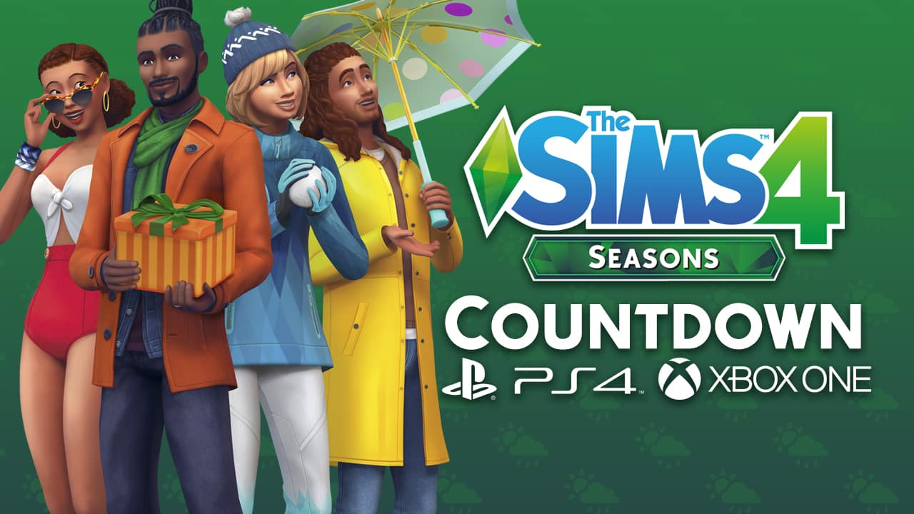 Countdown To The Release Of The Sims 4 Seasons On Xbox One And Ps4