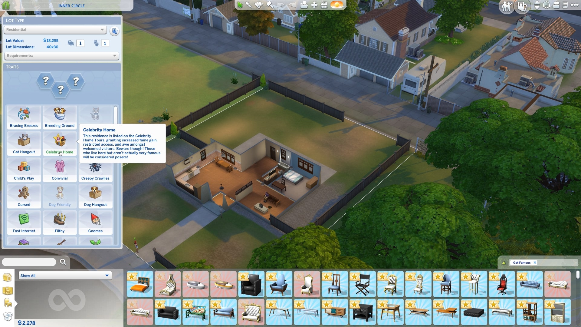 The Sims 4 Get Famous New Lot Traits Aspirations And Sim