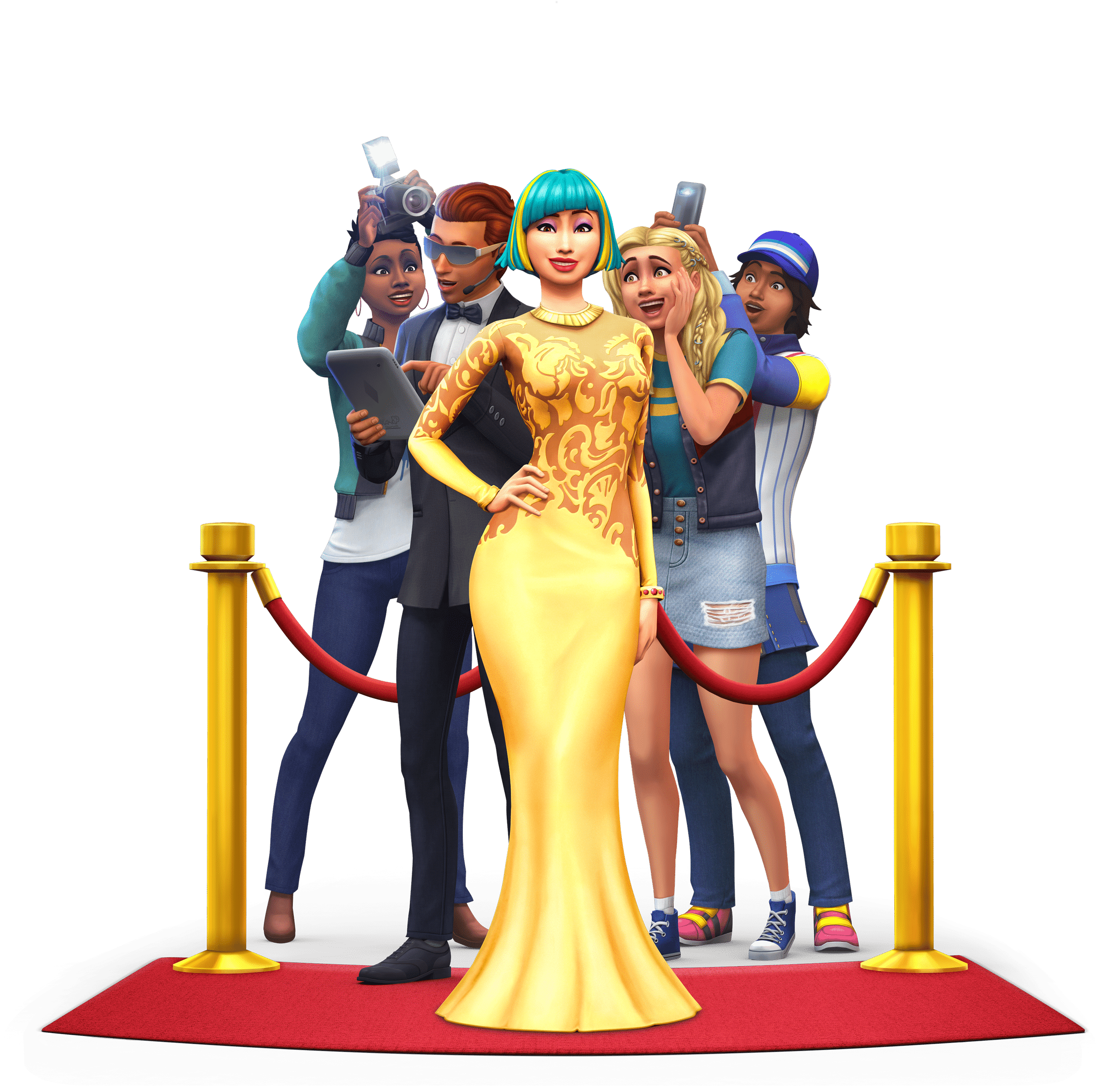 The Sims 4 Get Famous: Official Assets (Boxart, Logo ...