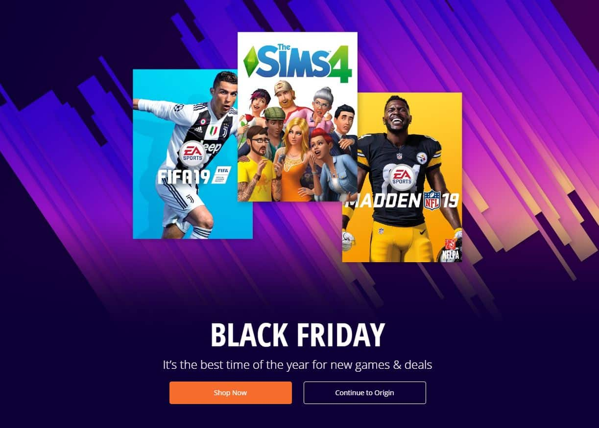 Origin Black Friday Sale Save Up To 60 Off On The Sims 4 Games