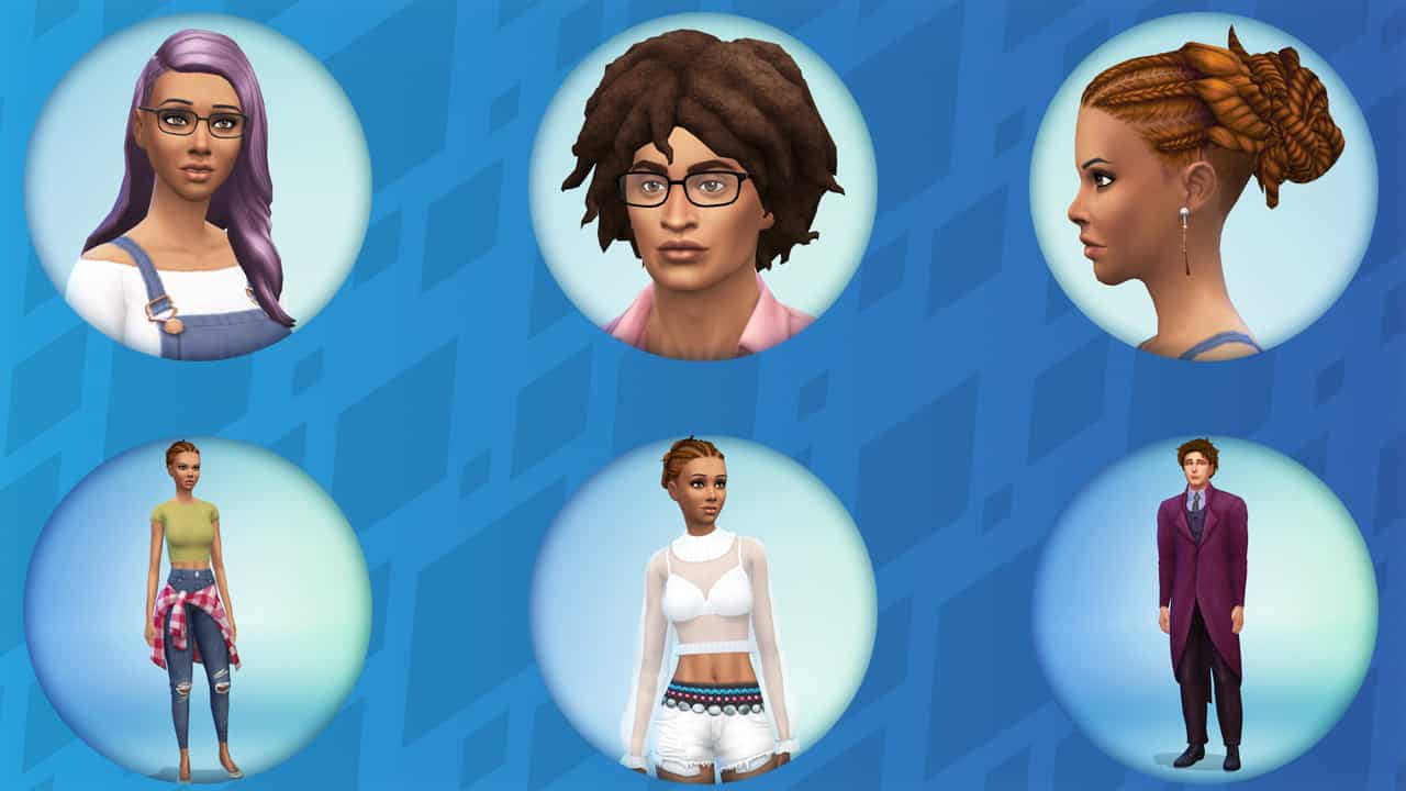bd938700aeb4 The Sims 4  Maxis Match CAS Custom Content Shopping (Links   Video)
