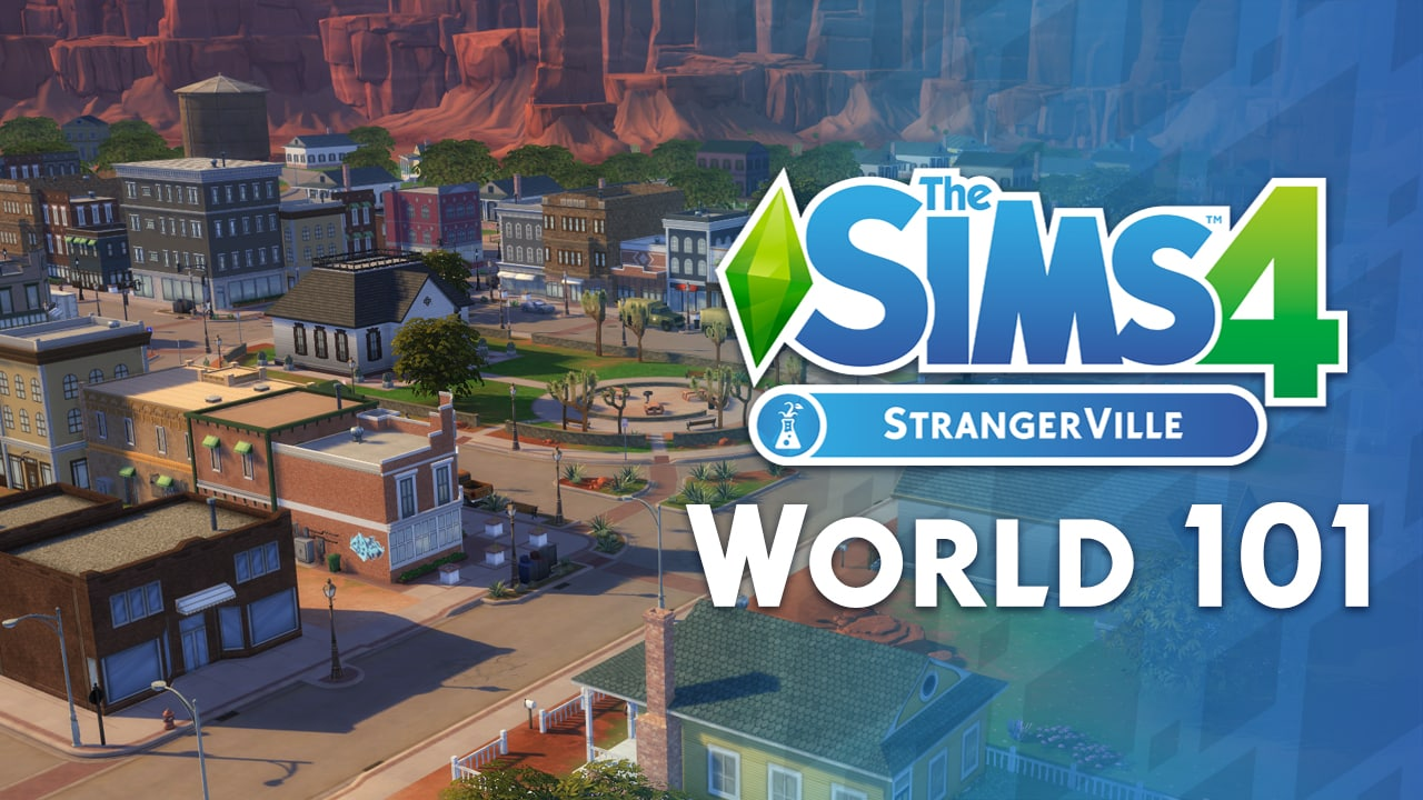 the sims 4 strangerville the new world lots and households video walkthrough