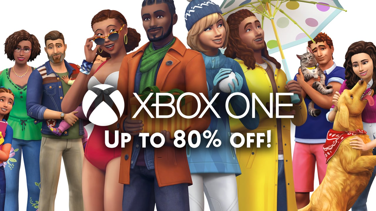 Xbox One Sale: Save up to 80% off on select The Sims 4 Games