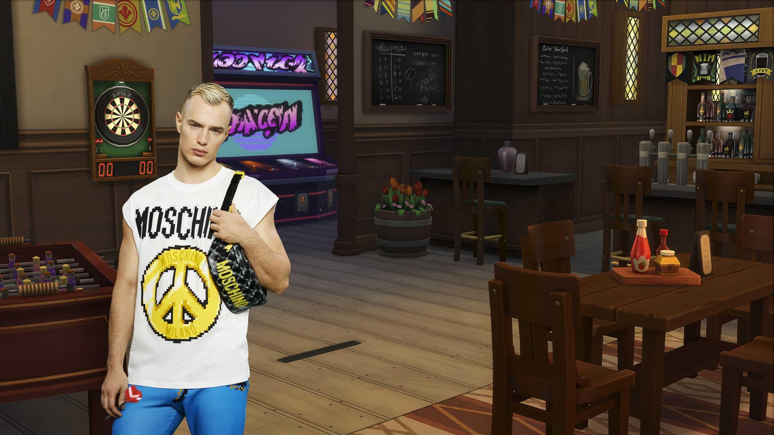 The Sims X Moschino: Promo Shots