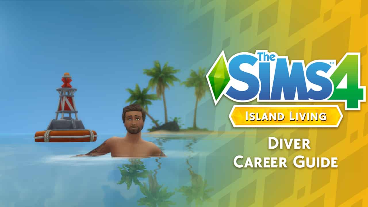 The Sims 4 Island Living: Diver Career Guide