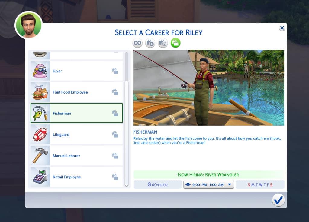Sims 4 Job