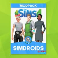 The Sims 4 Fanmade Mod Pack: Simdroids!