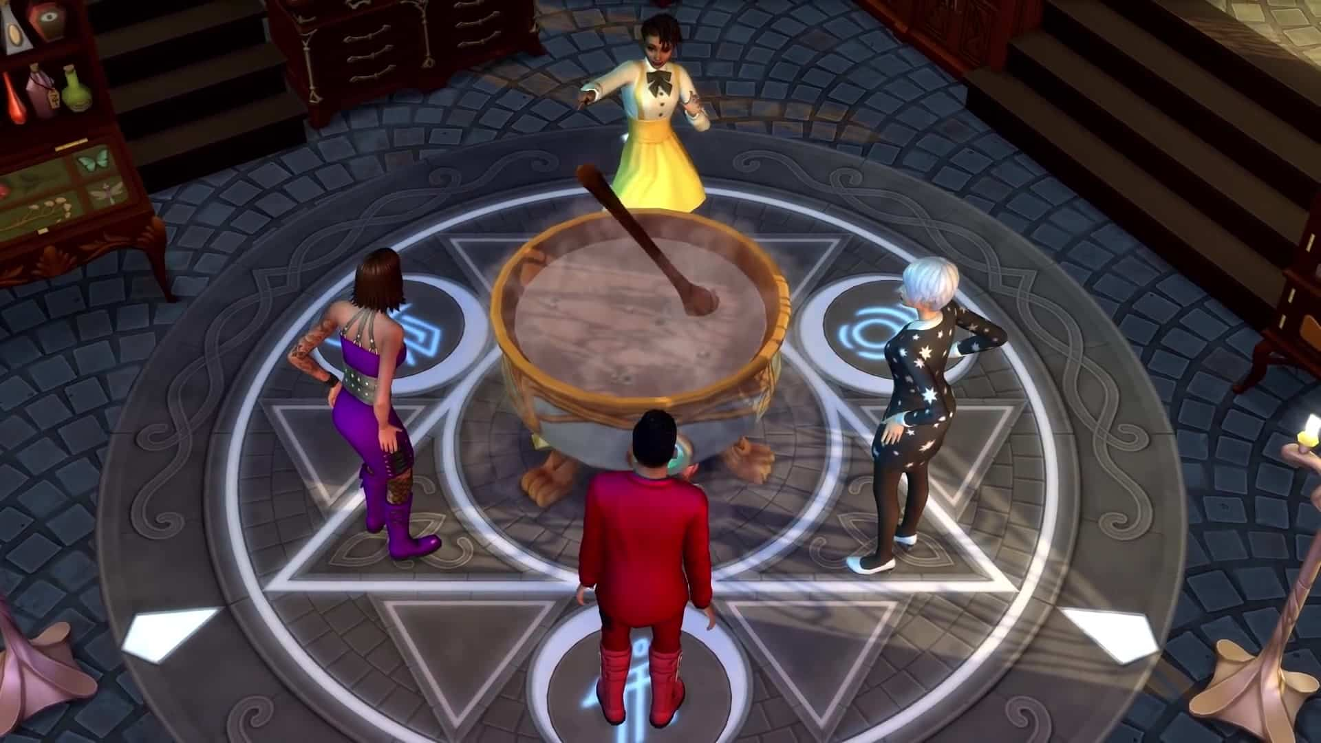 Image result for Sims 4 Realm of Magic Cheats