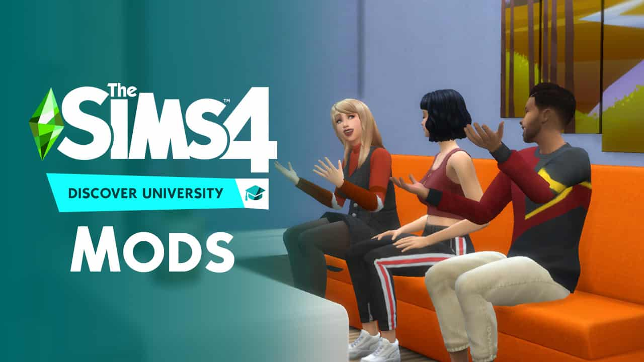 The Sims 4 Discover University: Mods to Enhance Your University