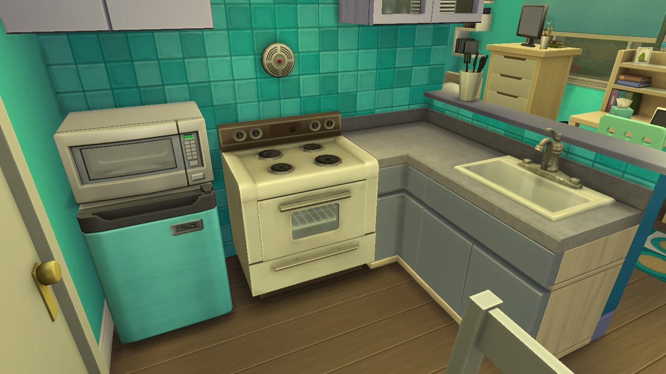 the sims 4 using tiny living with