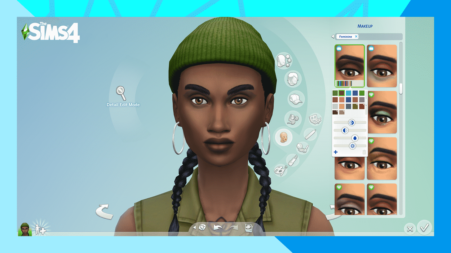 The Sims 4 First Look At The Skin Tones Makeup Sliders Coming This December